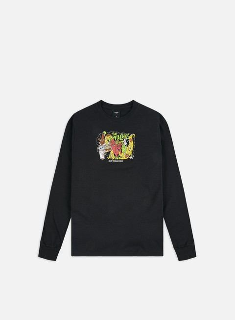 Outlet e Saldi T-shirt a Manica Lunga Huf The Munchies LS T-shirt
