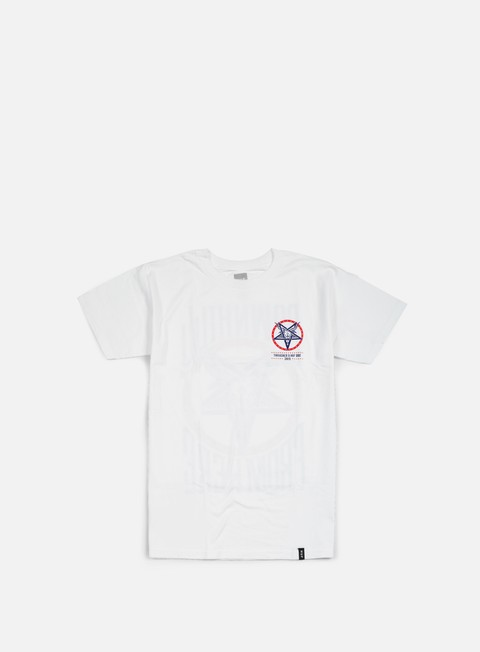 t shirt huf thrasher down from here t shirt white