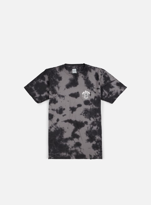 t shirt huf thrasher tds crystal wash t shirt black