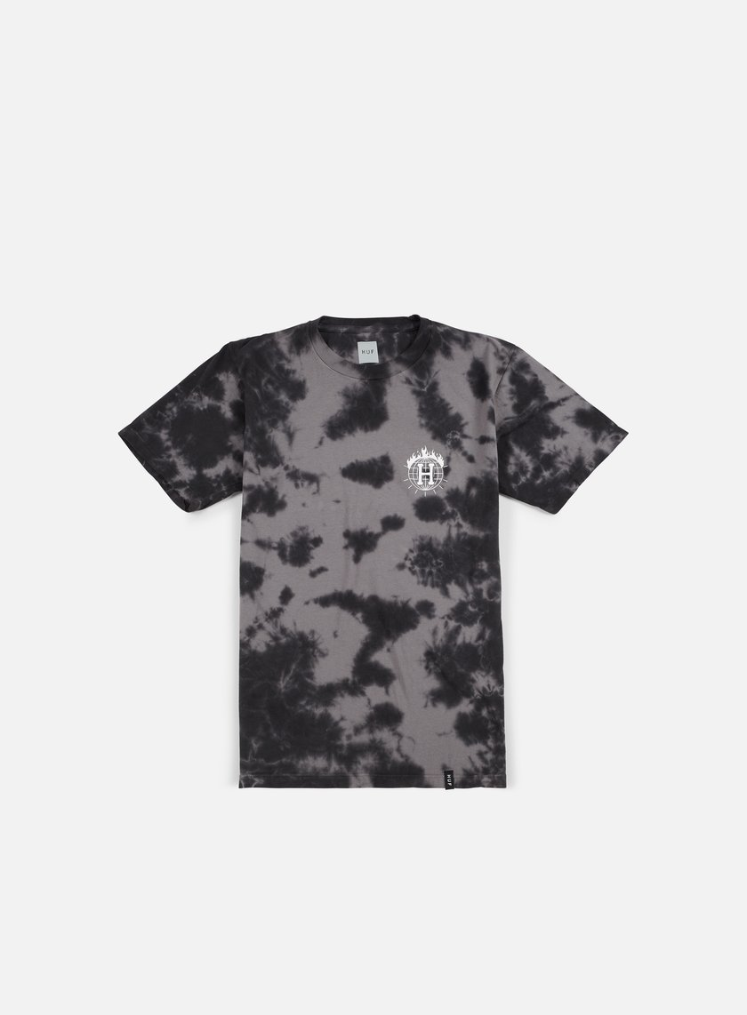 Huf - Thrasher TDS Crystal Wash T-shirt, Black