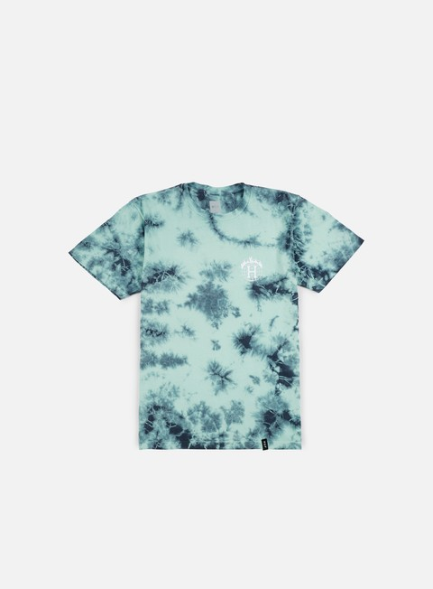 t shirt huf thrasher tds crystal wash t shirt mint