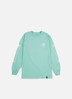 Huf - Thrasher TDS LS T-shirt, Mint 1