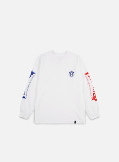 Huf - Thrasher TDS LS T-shirt, White 1