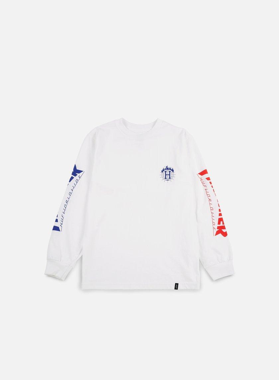 Huf - Thrasher TDS LS T-shirt, White