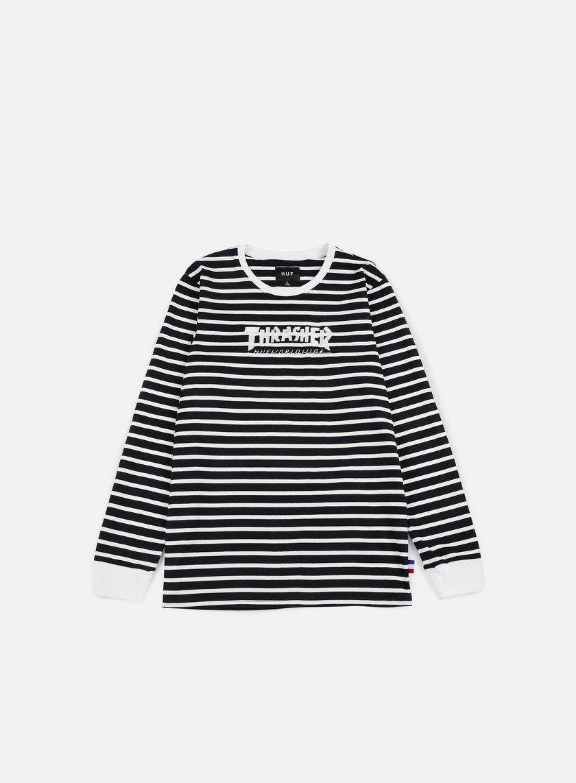 Huf Thrasher TDS Stripe LS T-shirt