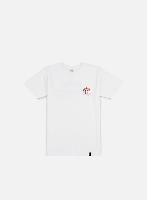 t shirt huf thrasher tds t shirt white
