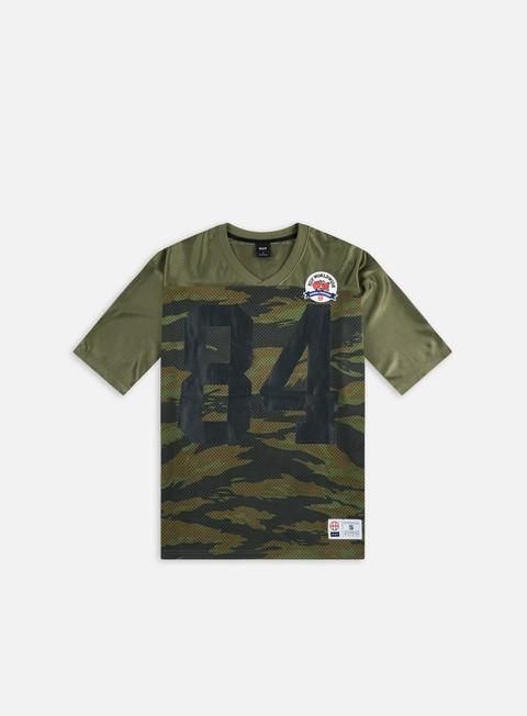 Outlet e Saldi T-shirt a manica corta Huf Top Rank Football Jersey