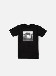 Huf - Transit Box Logo T-shirt, Black 1