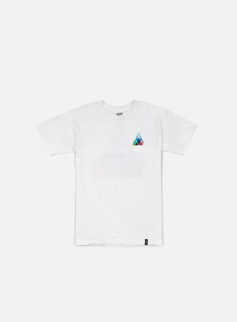 t shirt huf triangle prism t shirt white