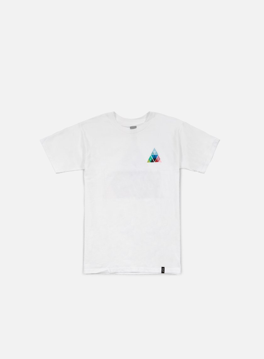 Huf - Triangle Prism T-shirt, White