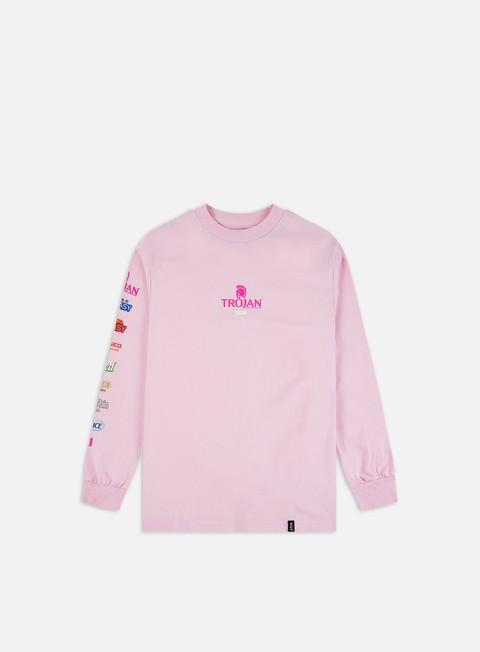 Outlet e Saldi T-shirt a Manica Lunga Huf Trojan Pleasure Pack LS T-shirt