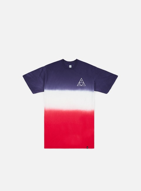 t shirt huf tt gradient t shirt twilight blue