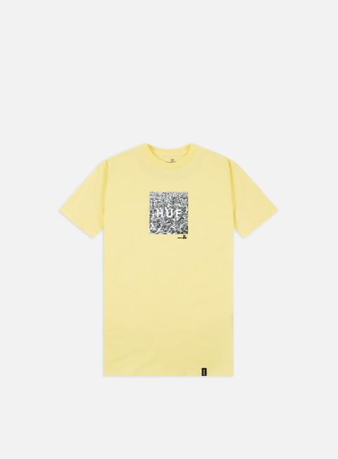 Outlet e Saldi T-shirt a Manica Corta Huf Woodstock Box Logo T-shirt