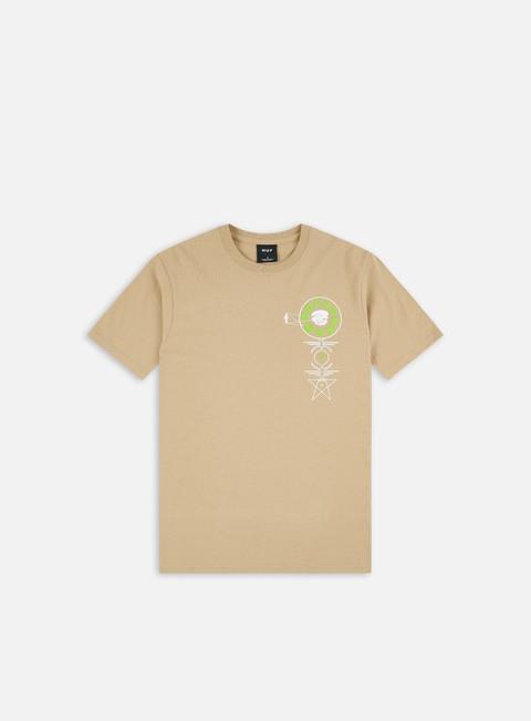 Short sleeve T-shirts Huf Wormhole T-shirt