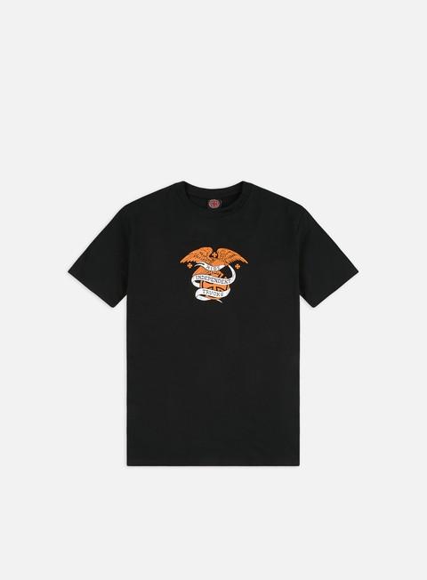 Outlet e Saldi T-shirt a Manica Corta Independent Adler Seal T-shirt