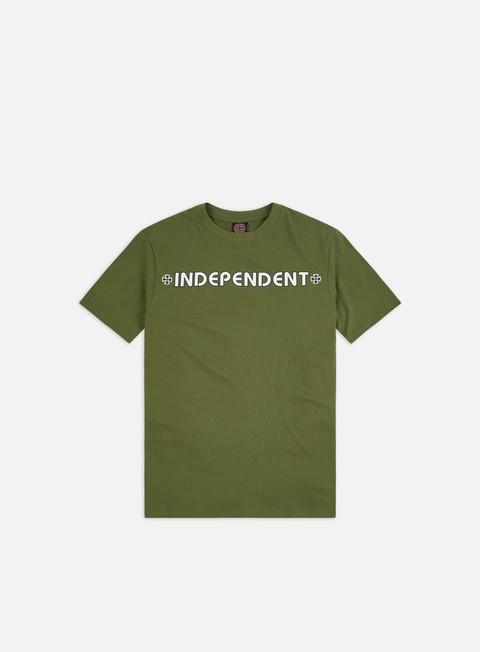Outlet e Saldi T-shirt a Manica Corta Independent Bar/Cross T-shirt