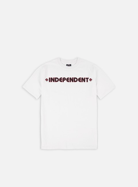 t shirt independent bar cross t shirt white
