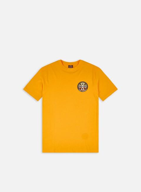 Short sleeve T-shirts Independent Split Cross T-shirt