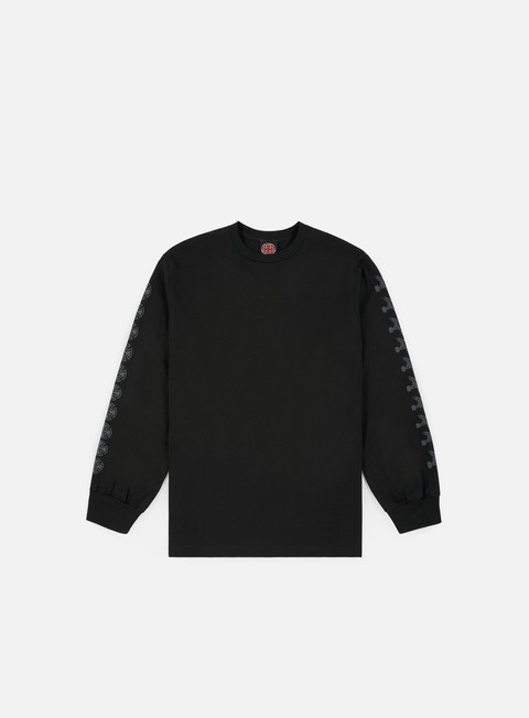 Long Sleeve T-shirts Independent Thrasher Pentagram Cross LS T-shirt