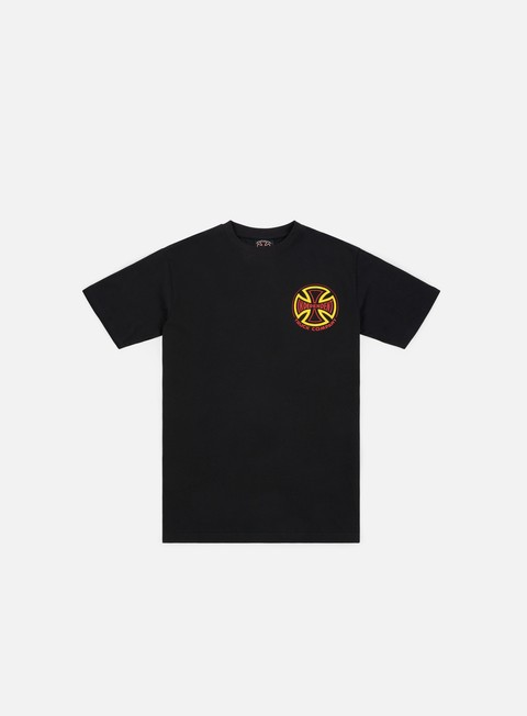t shirt independent two tone t shirt black