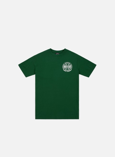 t shirt independent two tone t shirt forest green