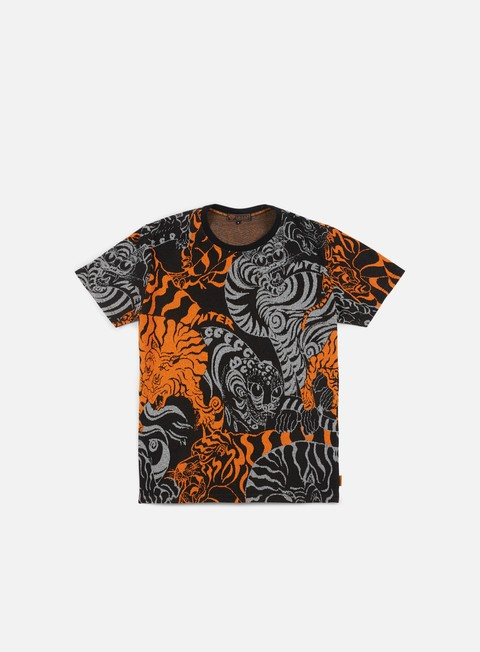 t shirt iuter asian jacquard t shirt orange