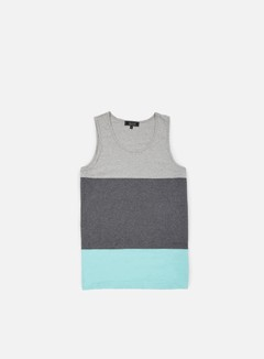 Iuter - Band Tank Top, Light Grey 1