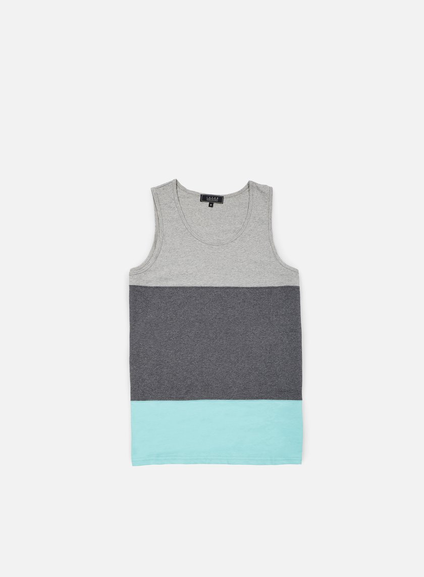 Iuter - Band Tank Top, Light Grey