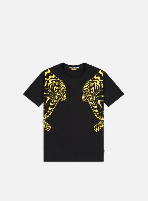Outlet e Saldi T-shirt a Manica Corta Iuter Basic Double Nepal T-shirt