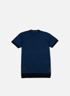 Iuter - Cattle Doble Sleeve T-shirt, Deep Blue
