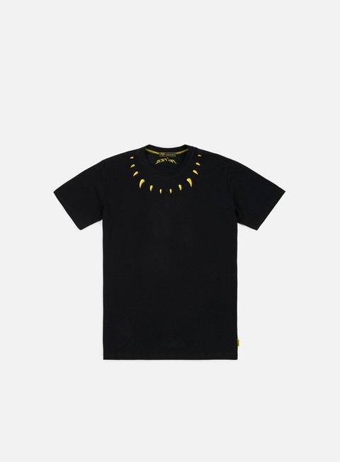 t shirt iuter claws t shirt black yellow