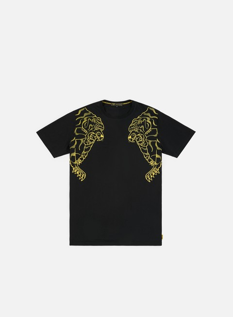t shirt iuter double nepal embroidered t shirt black yellow
