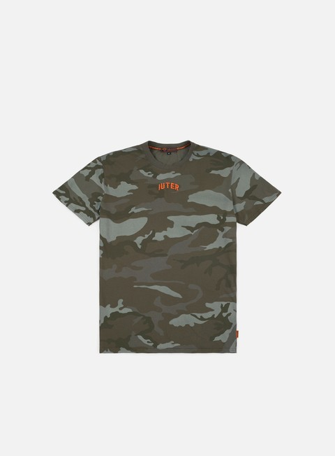 Sale Outlet Short Sleeve T-shirts Iuter Dye Camo T-shirt