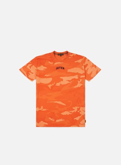 t shirt iuter dye camo t shirt orange