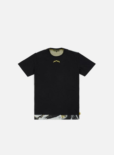 t shirt iuter eagle storm cut insert jacquard t shirt black