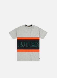 Iuter - Eurostyle Band T-shirt, Light Grey/Orange/Black