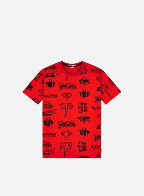 Outlet e Saldi T-shirt a Manica Corta Iuter Horns Allover T-shirt