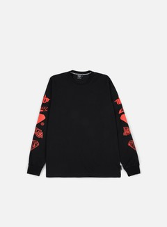 Iuter - Horns LS T-shirt, Black