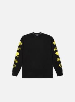 Iuter - Horns LS T-shirt, Black/Yellow