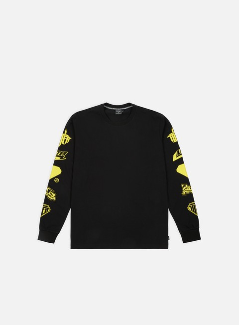 t shirt iuter horns ls t shirt black yellow
