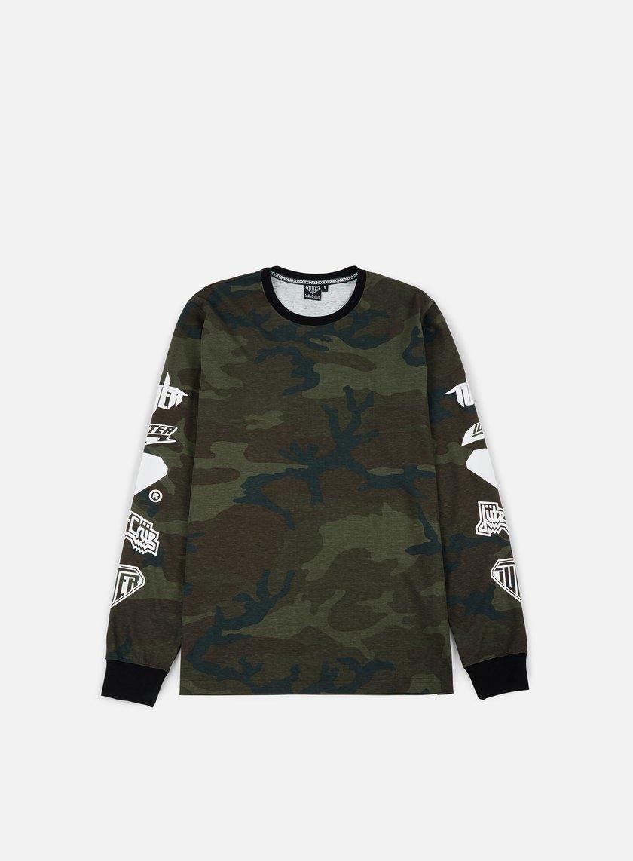 Iuter - Horns LS T-shirt, Camo