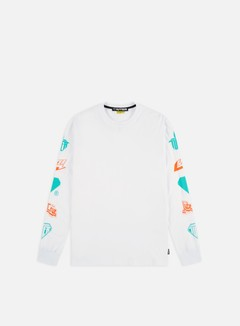 Iuter - Horns LS T-shirt, White