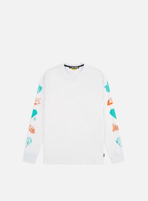 Outlet e Saldi T-shirt a Manica Lunga Iuter Horns LS T-shirt