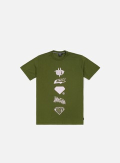 Iuter - Horns T-shirt, Army