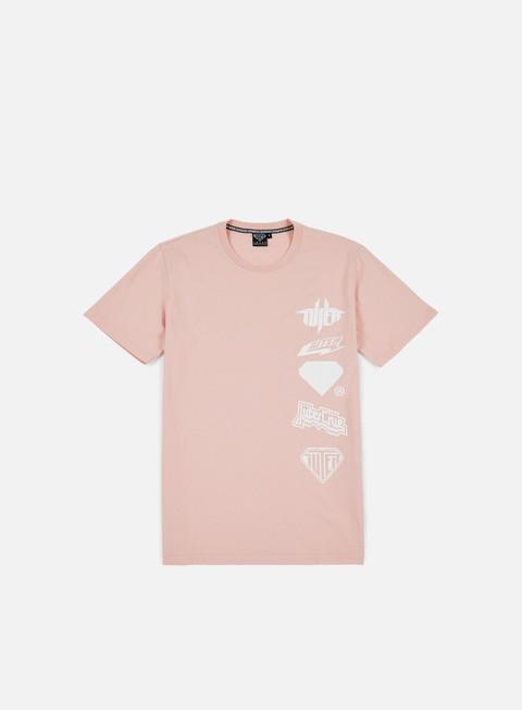 t shirt iuter horns t shirt pink