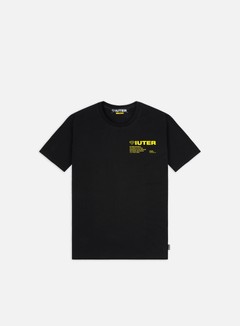 Iuter - Info T-shirt, Black/Yellow