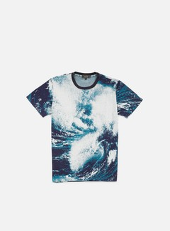 Iuter - Jacquard T-shirt, Sea 1