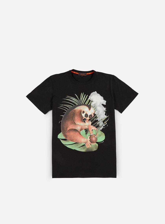 Iuter - Lemur Digi T-shirt, Black