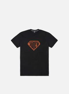 Iuter - Logo T-shirt, Black/Orange