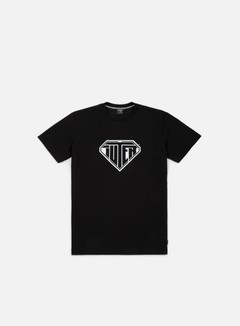 Iuter - Logo T-shirt, Black/White
